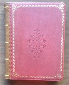 Verso antique book eReader cover